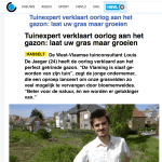 Het Belang van limburg - 24 april 2018 - Louis De Jaeger - Commensalist.png