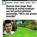 Het nieuwsblad - 24 april 2018 - Louis De Jaeger - Commensalist