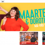 Q music - Maarten en Dorothee - 30 april 2018 - Louis De Jaeger - Commensalist
