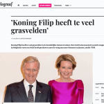 De Telegraaf - 1 mei 2018 - Louis De Jaeger - Commensalist