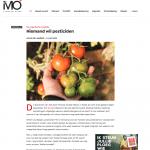 MO* Mondiaal Magazine - 4 juni 2018 - Niemand wil pesticiden - Louis De Jaeger - Commensalist