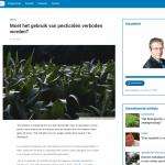 Radio 1 - Hautekiet - 31 mei 2018 - Moet het gebruik van pesticiden verboden worden? - Louis De Jaeger - Commensalist